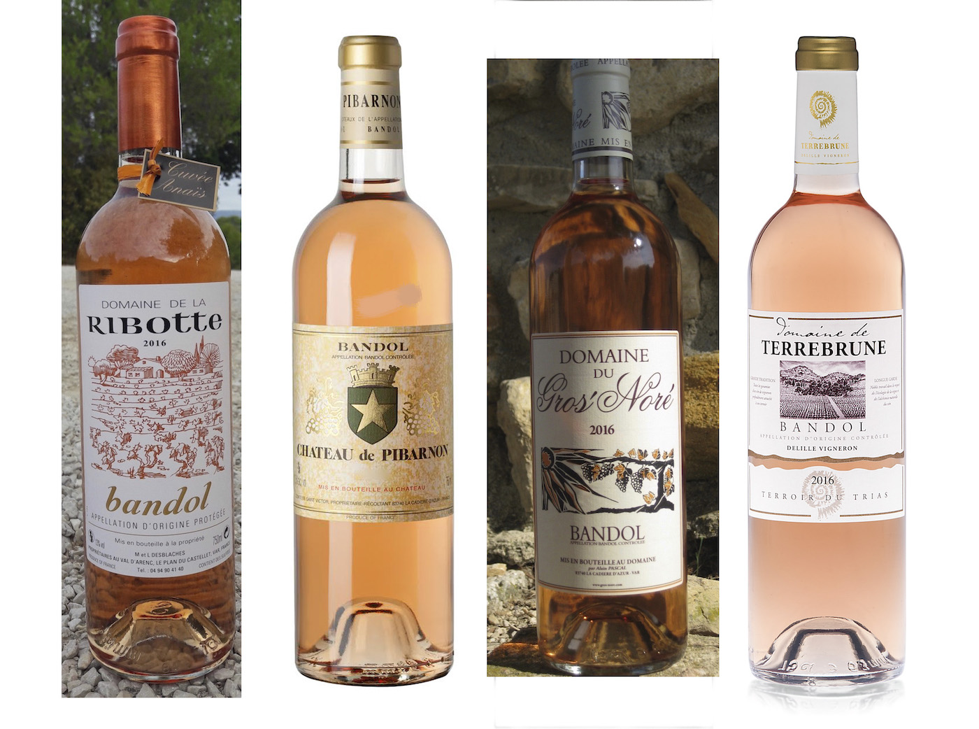Bandol Rosé is a Flat Out Exquisite Antidote to Paleness. Think Mourvèdre.