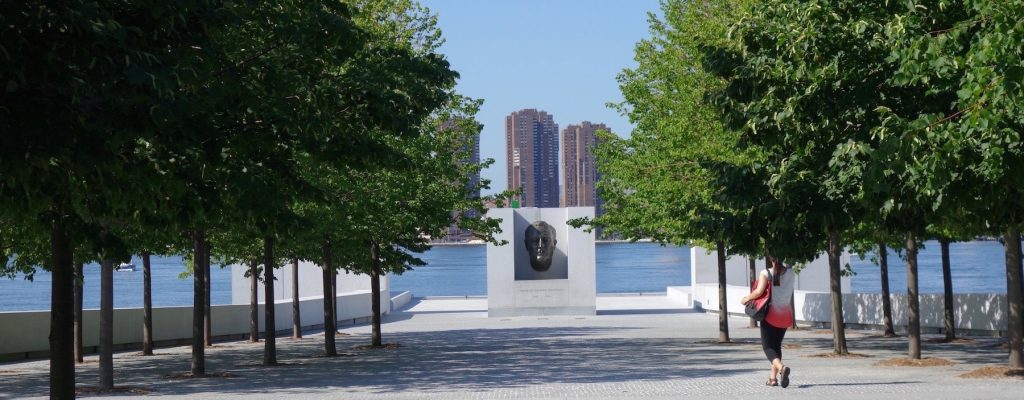 La dignité de Jo Davidson au FDR Four Freedoms Park à New York –  Une Campagne Lancée en France et en Amérique